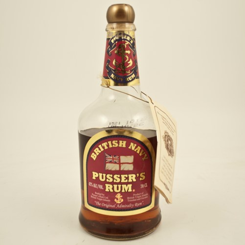 Pusser's British Navy Rum (Pink Label)