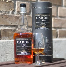 Bristol Classic Rum Caroni 1996 – Bottled in 2011