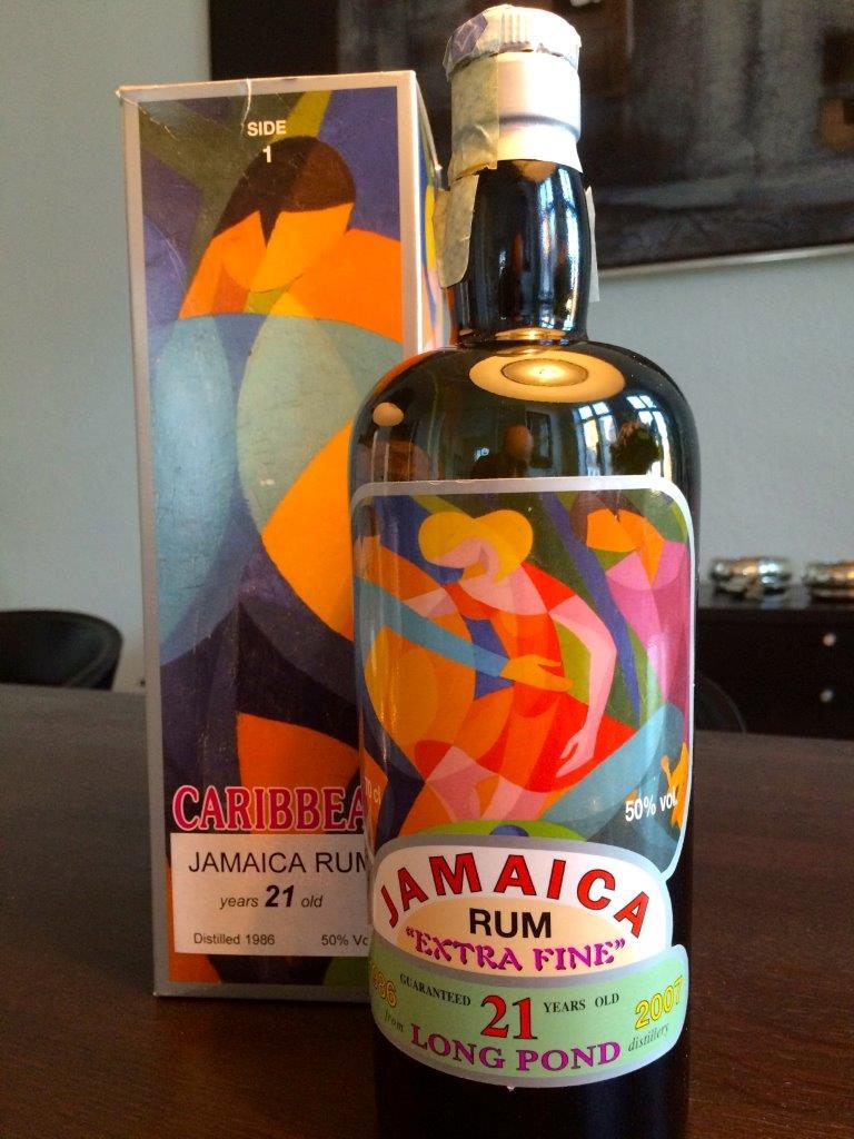 Silver Seal Jamaican Rum 21 Years Old - Rom anmeldelse - Romhatten dk