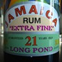 Silver Seal Jamaican Rum 21 Years Old