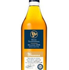 Savanna Single Cask Traditionnel 2008 53,40 %