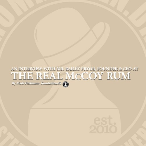 The Real McCoy Rum - An interview with Bailey Pryor