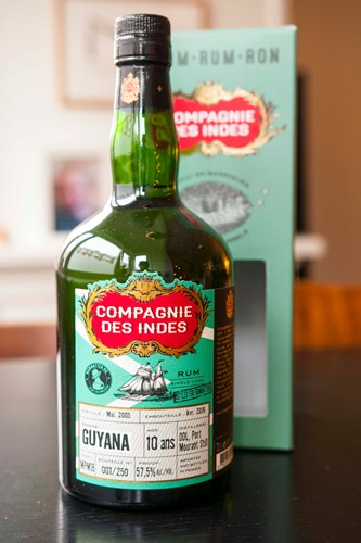 Compagnie Des Indes Port Mourant 10 Years Bottled For Romhatten