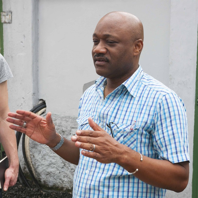 Lennox Wilson Production Manager St Lucia Distillers