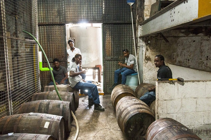 Team St Lucia Distillers