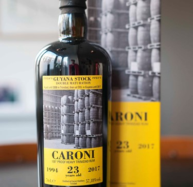Velier Caroni 23 Years Guyana Stock