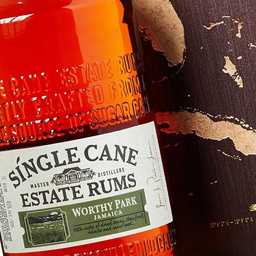 Single Cane Estate Rums Worthy Park 40%