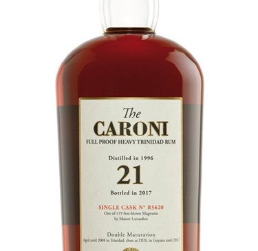 The Caroni 21 Years 1996 Velier Cask No. R5620